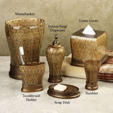 bathroom exclusive boutique mestre gold bathroom accessories set