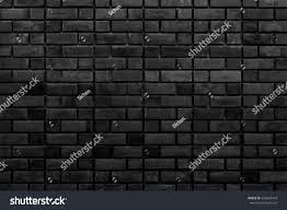 Dark Brick Wall Background Old Black Brick Wall Texture Vintage Stock Photo 576642418