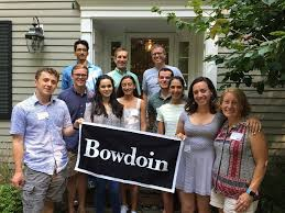 the class of 2021 is welcomed to bowdoin at the annual send