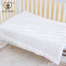 All White Crib Bedding Austtbaby Baby Crib Bedding Sets Comforter Inner For Cotton