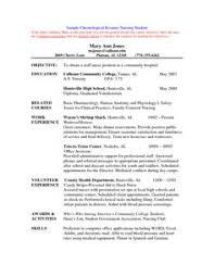 Students Resume Samples by Sample Nursing Curriculum Vitae Templates Http Jobresumesample