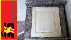Making Raised Panel Cabinet Doors How To Make A Raised Panel Cabinet Door Youtube
