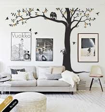 Nursery Wall Mural Decals Tree Wall Decal Nursery Decor Mural Owl Blossoms Tree Sticker
