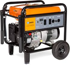 wanco 5300 watt portable gas generator generator for sale