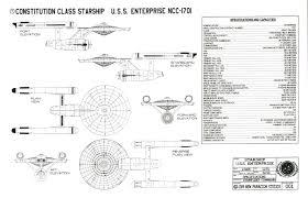 Uss Enterprise Floor Plan by Star Trek Uss Enterprise Schematics Ncc 1701 Blueprints Oudr