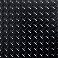 interlocking tile garage flooring the home depot raceday 12 in x 12 in peel and stick diamond tread midnight black polyvinyl