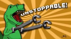 T Rex Unstoppable Meme - unstoppabble t rex by btestus on deviantart