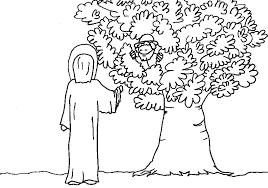 Jesus Saw Zacchaeus Coloring Page Downloads For Kids With To Print Zacchaeus Coloring Page