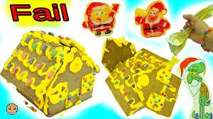 fail video making spongebob squarepants holiday food gingerbread