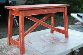 How To Paint Wood Furniture by