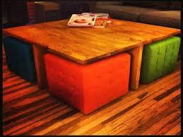 Diy Ottomans Diy Ottoman Coffee Table Capsuling Me