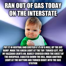 I Hate Memes - gas success kid i hate sandcastles know your meme