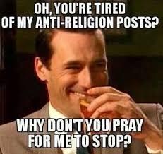 Anti Christian Memes - memes danielle hallett