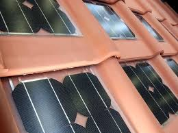 piastrelle fotovoltaiche tegole solari tetto solare integrato con piastrelle fotovoltaiche