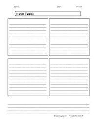 Note Sheet Template Best 25 Notes Template Ideas On Textbook