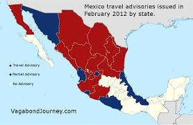 travel state images Mexico travel warnings by state png