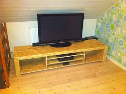 Wood Furniture Design Tv Table Diy Tv Bench Or Tv Table In Osb Wood Carpenter Ideas Pinterest
