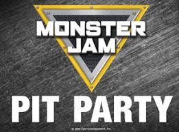 monster jam pit party pit pass tickets dates official