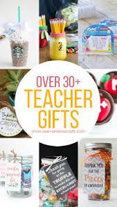 over 30 teacher appreciation or back to gift ideas