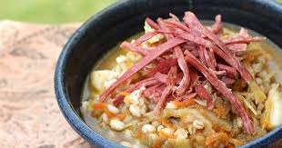 corned beef and cabbage soup with barley diabetic foodie