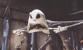 scary gif jack skellington tim burton film movie creepy child