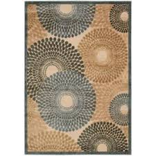 Graphic Area Rugs Nourison Graphic Illusions Parchment 5 Ft 3 In X 7 Ft 5 In