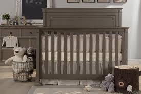 Grey Convertible Crib by U0026 Ben Nelson 4 In 1 Convertible Crib With Toddler Rail In Washed