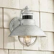 Galvanized Outdoor Lights Outdoor Dusk To Lights Outdoor Lighting Ls Plus