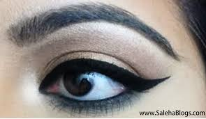 How To Do The Perfect Eyebrow Saleha Blogs How To Do Perfect Winged Eyeliner