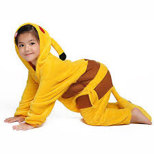 Coconut Halloween Costume Aliexpress Buy Halloween Pikachu Pajamas Unisex Child Anime