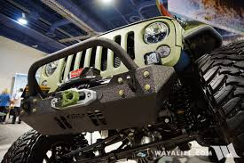 linex jeep blue 2016 sema line x jk crew bruiser conversions jeep wrangler