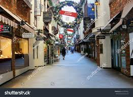 Commercial Christmas Decorations Perth by Perth Australia November 14 Old Shopping Stock Photo 426787402