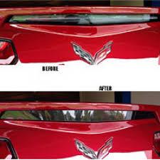 Tail Light Out 2014 2018 Corvette Acrylic Tail Light Black Out