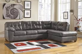 Ashley Furniture Sofa Chaise Alliston Gray Right Arm Facing Chaise Sectional By Ashley Furniture