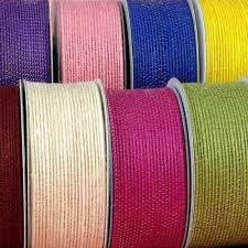 colored burlap ribbon colored jute ribbon jute ribbon s t enterprise panipat id
