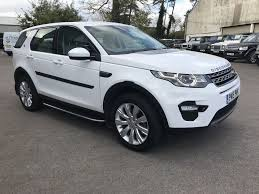 white land rover black rims used white land rover discovery sport for sale gloucestershire