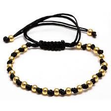 macrame beads bracelet images Macrame beads bracelet unisex bracelet 7 variations tempotats jpg