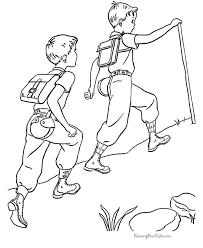 camping coloring pages 001 coloring