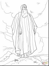 wonderful moses and pharaoh coloring pages with moses coloring