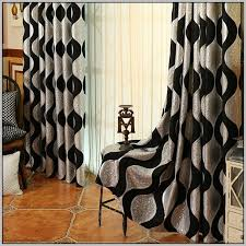 Black Floral Curtains Silver And Black Floral Curtains Curtains Home Design Ideas
