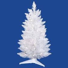 best tabletop artificial trees images on ge pre lit 7 white