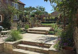 latest project walled and terraced town garden in historic