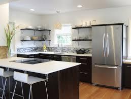 kitchen amazing open shelving in kitchen floating shelves