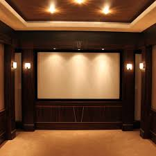 Home Theatre Decorations by Bluehomz Solutions Home Auotmation Home Theatre Smart Home
