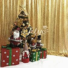 amazon com queendream 7ft x 7ft gold sequin backdrop fabric