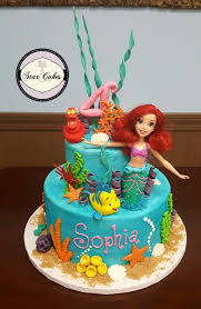the mermaid cake mermaid from disney cake made at cakes bakery in