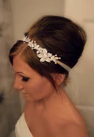 wedding headband bridal headband bridal shay rhinestone headband
