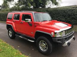 luxury hummer used 2008 hummer h3 3 7 luxury 20v 5d auto 244 bhp right hand