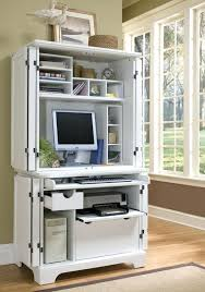 Home Computer Desk Hutch Compact Computer Desk With Hutch Plfixtures Info