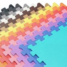 Interlocking Rubber Floor Tiles Amazon Com We Sell Mats 2 U0027x2 U0027 Foam Interlocking Anti Fatigue
